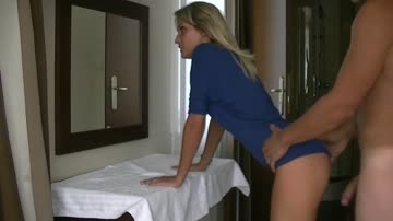 Beautiful amateur porn video with young girl, adorable ass and body, innocent face, small pussy