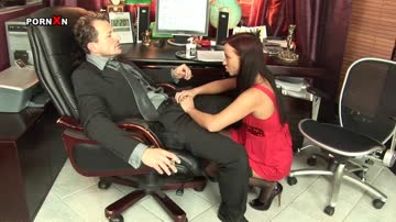 cracking secretary gets fisted & fucked by her boss in the office.