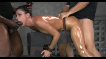 india summer - greased up, 2 up, being riden.