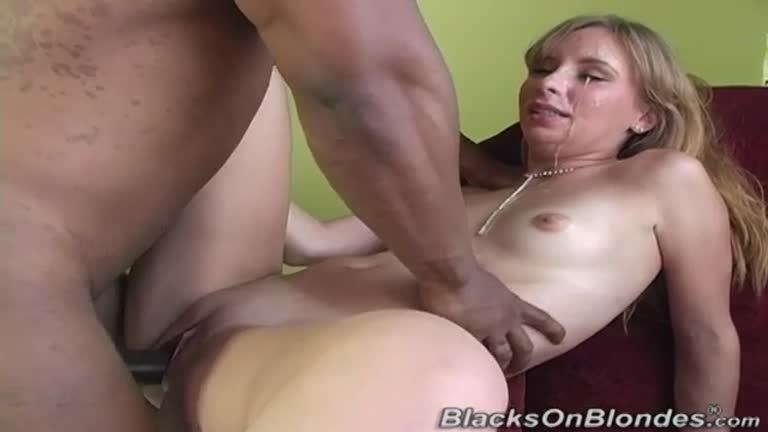 Newbie Laila Gives Her All To Black Cock.