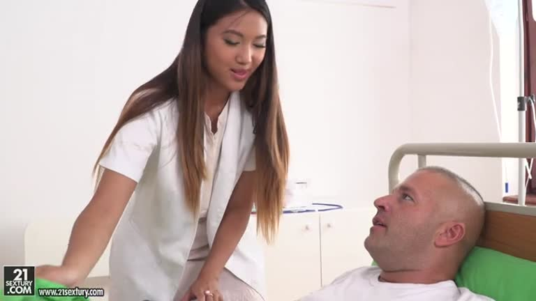 Mai Thai (Patient & Doc Double Penetrate The Nurse)