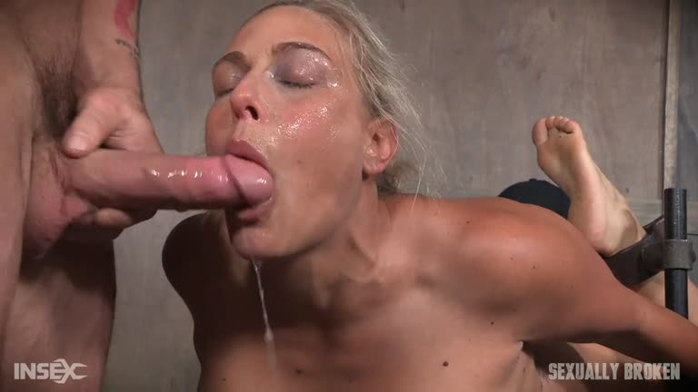 Angel Allwood Takes The Advanced Level Throating Course.