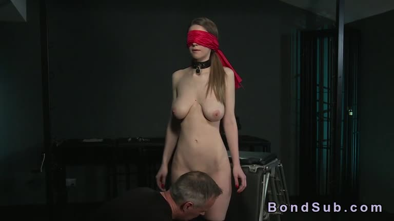 Stella Cox Gets The Full Tutorial In The Dungeon.