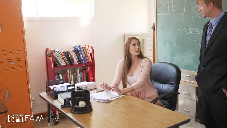 Nina Skye - School Teacher Stepdaughter Seduces Stepdad Principal