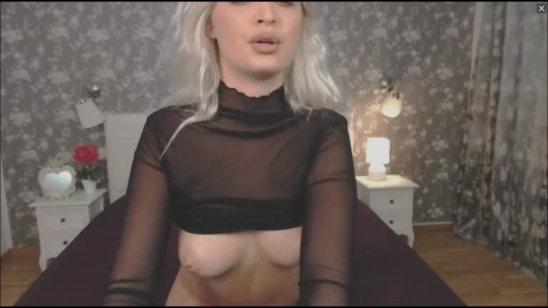 Busty Blonde Beauty Is Super Good At Riding Dildo