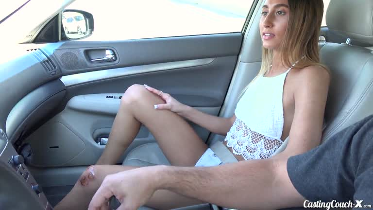 Raquel Diamond Takes To The Casting Couch,