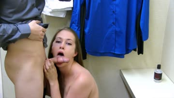 Lindsey assfucked in dressing room