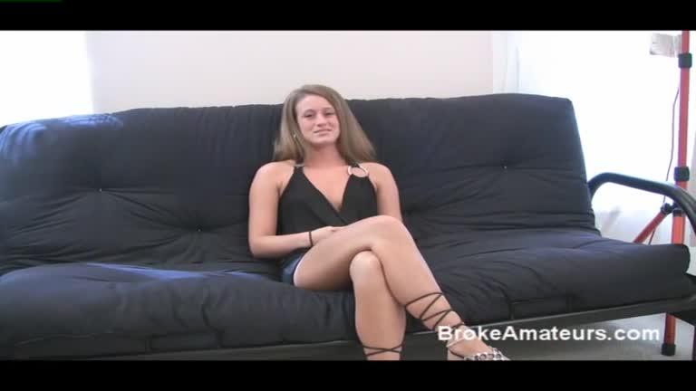 Amateur Ashley's 1st. Porn Scene.