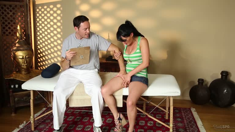 Charley Chase Gets A Premium Massage.