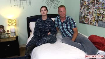 Janice Taddy, Preston Phillips (Navy Girl in Uniform Reports for Military Anal Sex)