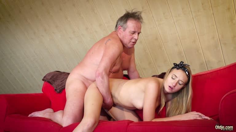 Sabrina Blanc Really Spoils The Old Man.