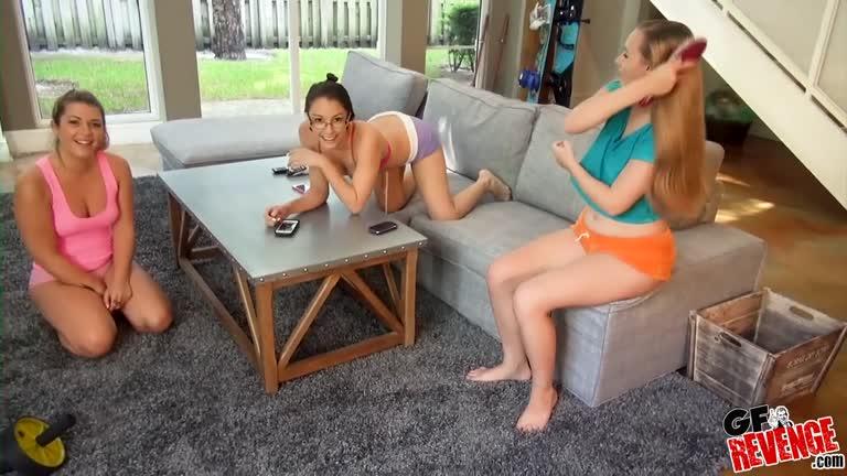 Alexis Rodriguez Jenna Leigh And Tiffany Kohl The Sleepover