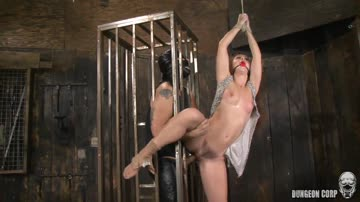 karlee montana is down in the dungeon being prodded, poked & finally fucked.
