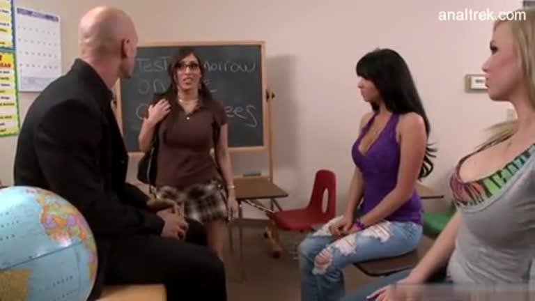 Alexis Breeze In A Classroom Fuck