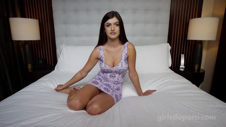 Brunette  Teen Ready For Agents Big Dick.............................................331