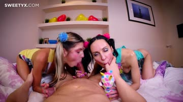 Lilu Moon and Gina Gerson Anal Nymphomaniac Kittens
