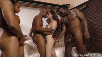 casey calvert gets herself involved with a group of negroes.
