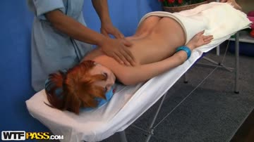 Fiery redhead in cool massage porn - Norma