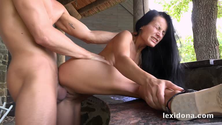 Lexi - Sex On The Terrace