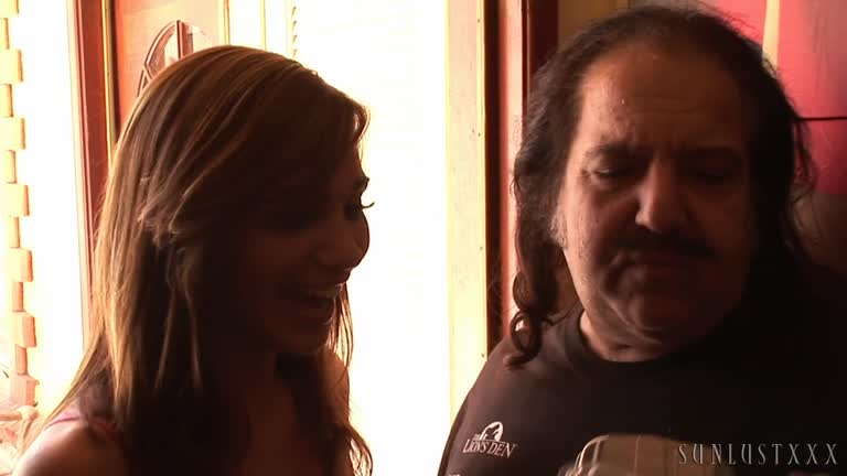 CAN'T KEEP RON JEREMY DOWN.