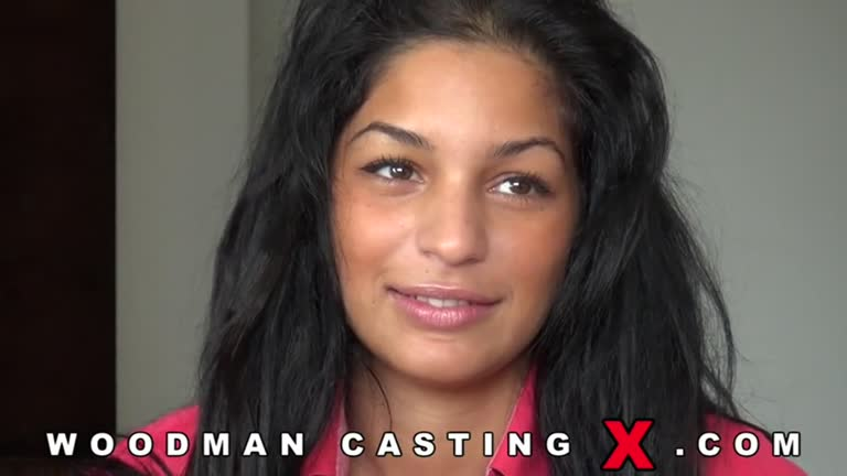 Hot Teen Brunette SLut - Casting