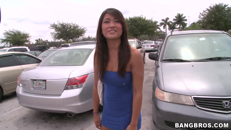 Car sex girl asian