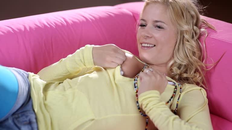 Aprilia - Hot Blonde Hard Sex