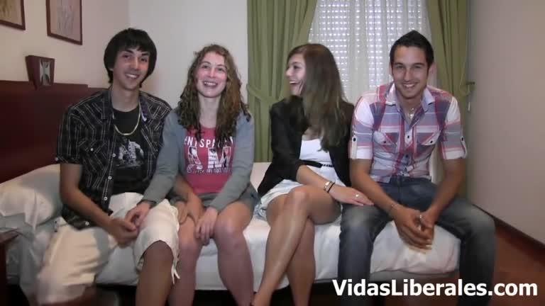 SOL Y LAURA BREY INTERCAMBIO DE PAREJAS