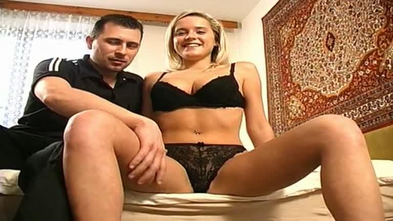 German Girl Getting Kit Off,3some