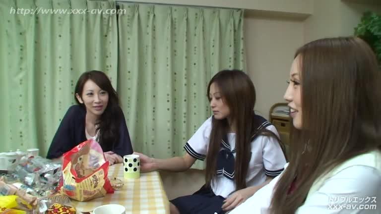 Japanese Aya, Tiara, Tsubasa Asleep Sex