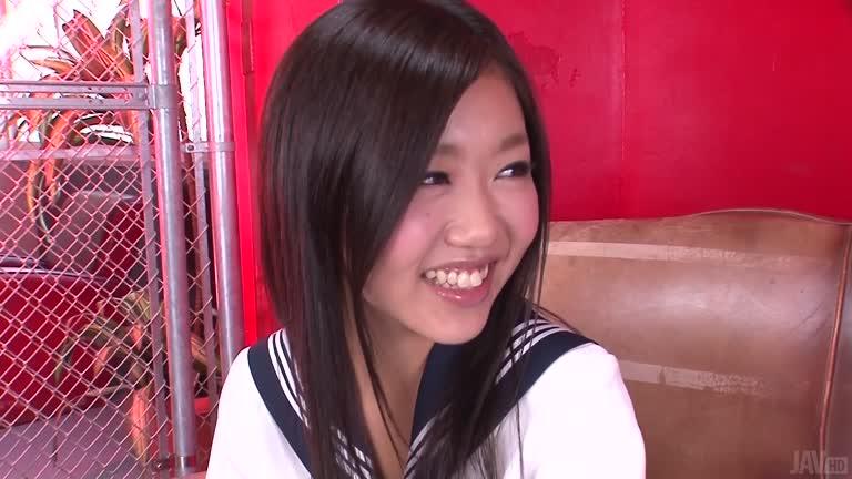 Sexy Schoolgirl Akina In Hardcore