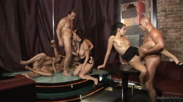 Angie, Barra Brass, George Uhl, Kari, Veronica Diamond, Ferrera Gomez, Leonelle - 5 Incredible Orgies