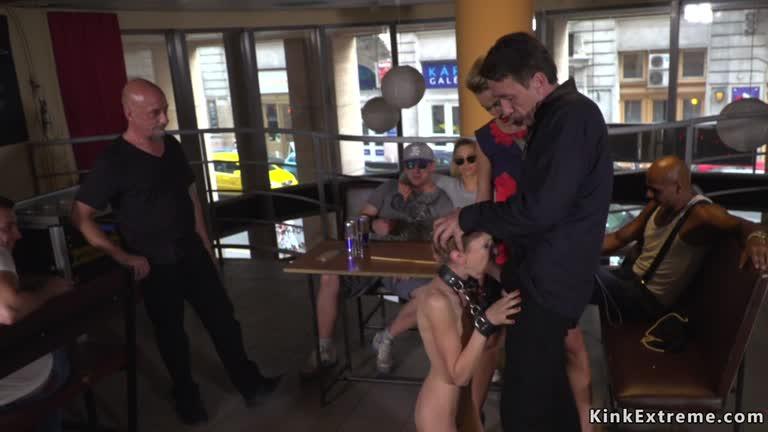 Babe Anal Gangbanged In Public Bar - XFREEHD
