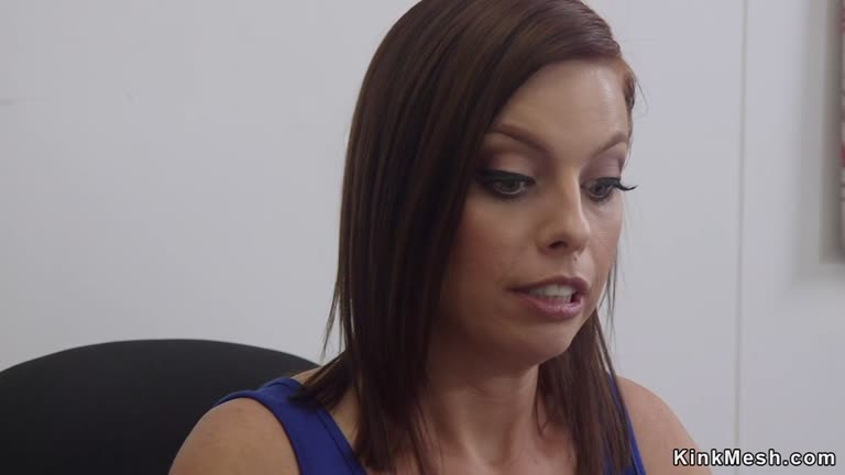 Lesbian Boss Makes Employees